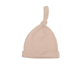 Organic Cotton Knot Hat ( Rose Dust)