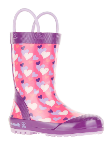 Children's Lovely Rain Boots Pink