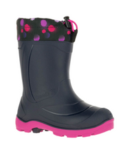 Load image into Gallery viewer, Children's SnoBuster 2 Navy Magenta