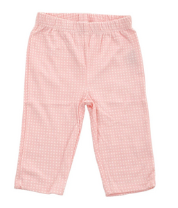 Organic Cotton Pant (Blush Dot)
