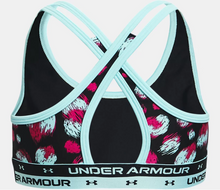 Load image into Gallery viewer, UA Crossback Printed Sports Bra