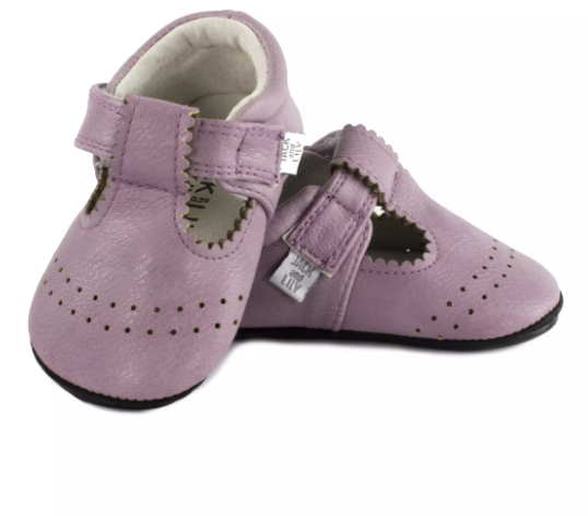 Tali Light Purple T-Strap