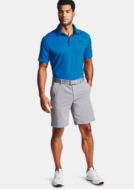 Men's UA Tech Polo Electric Blue