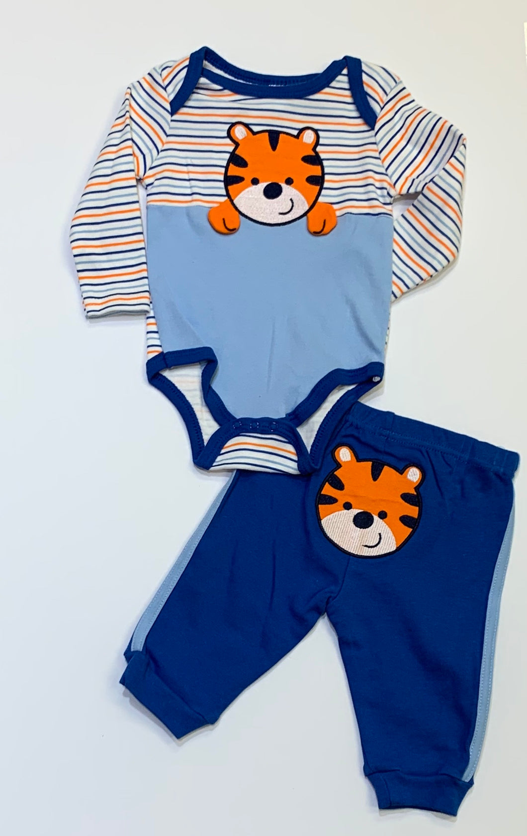 Long Sleeve Tiger 2pc Set