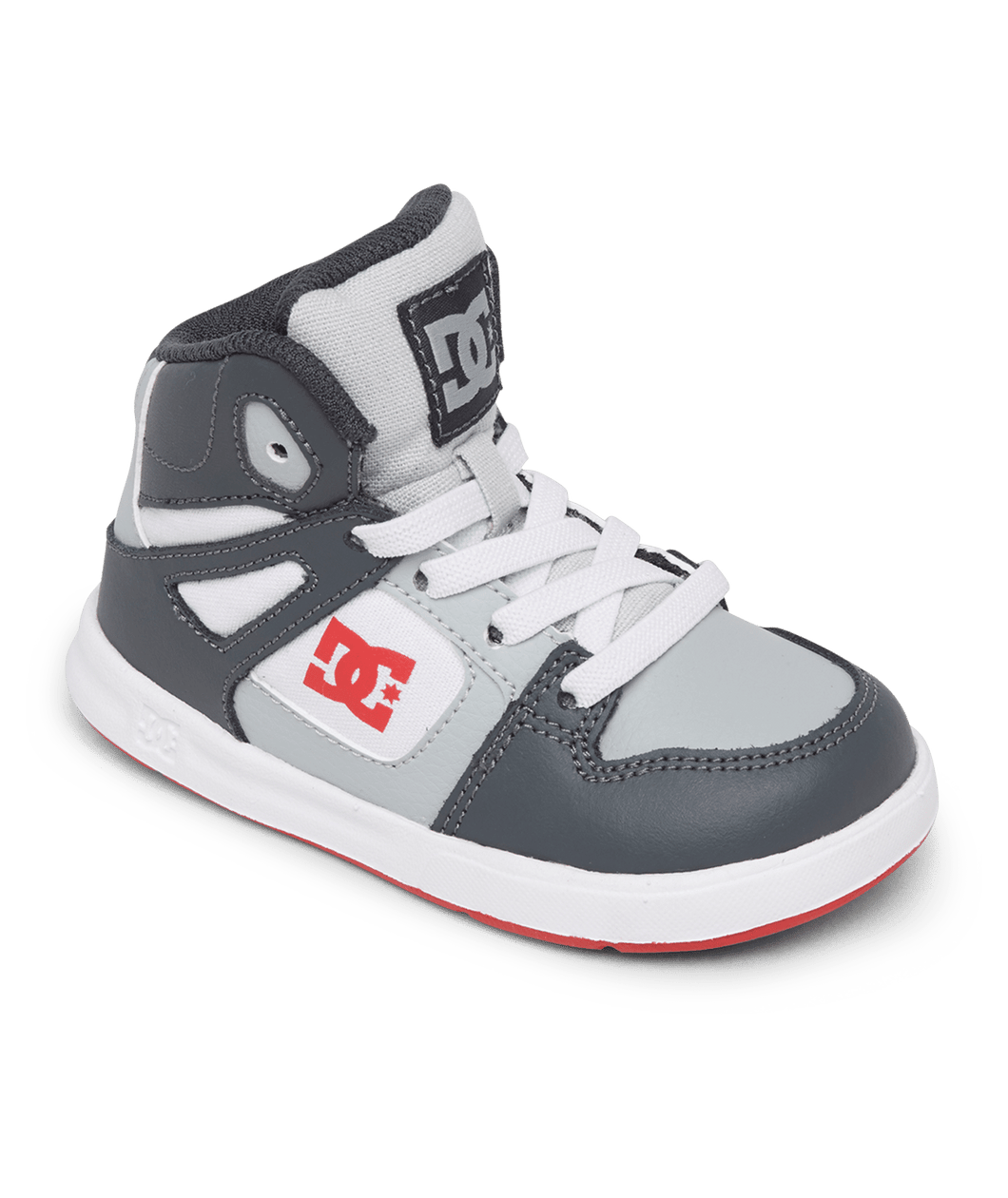 Toddler Pure High Top Grey/Red