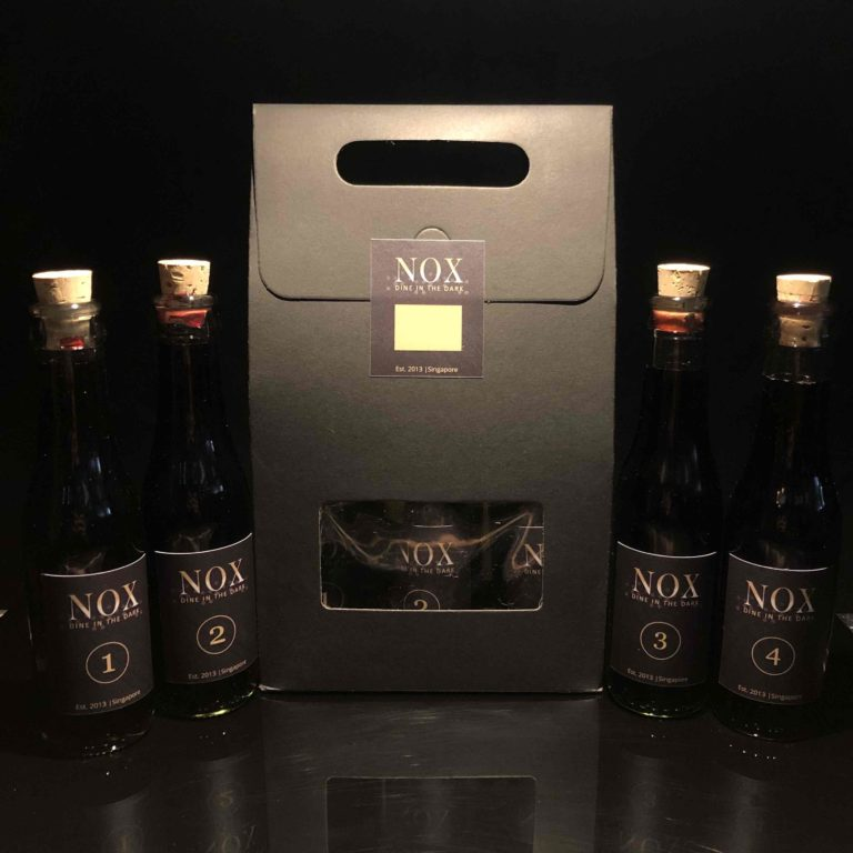 NOX Red Wine Blind Tasting Box