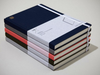Monocle Hardcover A5 Linen Notebook/ Light Grey