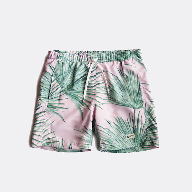 Pointy Leaf Swim Trunk