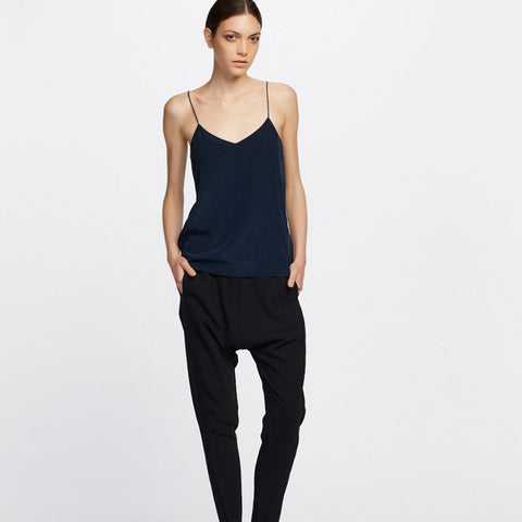 Eva V Neck Cami NAVY