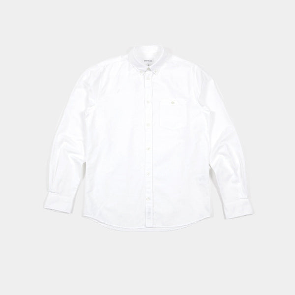 Anton Oxford Shirt White