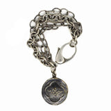 Lion King Statement Coin Bracelet