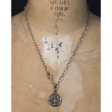 Petit Fortune Favors the Bold Coin Necklace