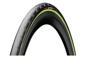 Pneu Route Continental Ultra Sport II 700 mm Tubetype Rigide Performance PureGrip Compound Bandes Vertes
