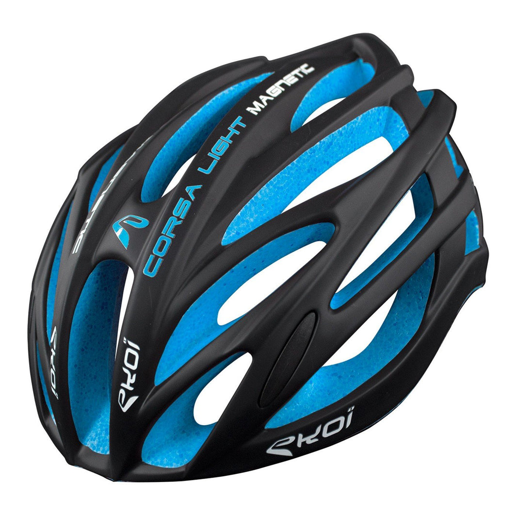 Casque Ekoi Corsa Light Bleu L/XL - 59/61cm