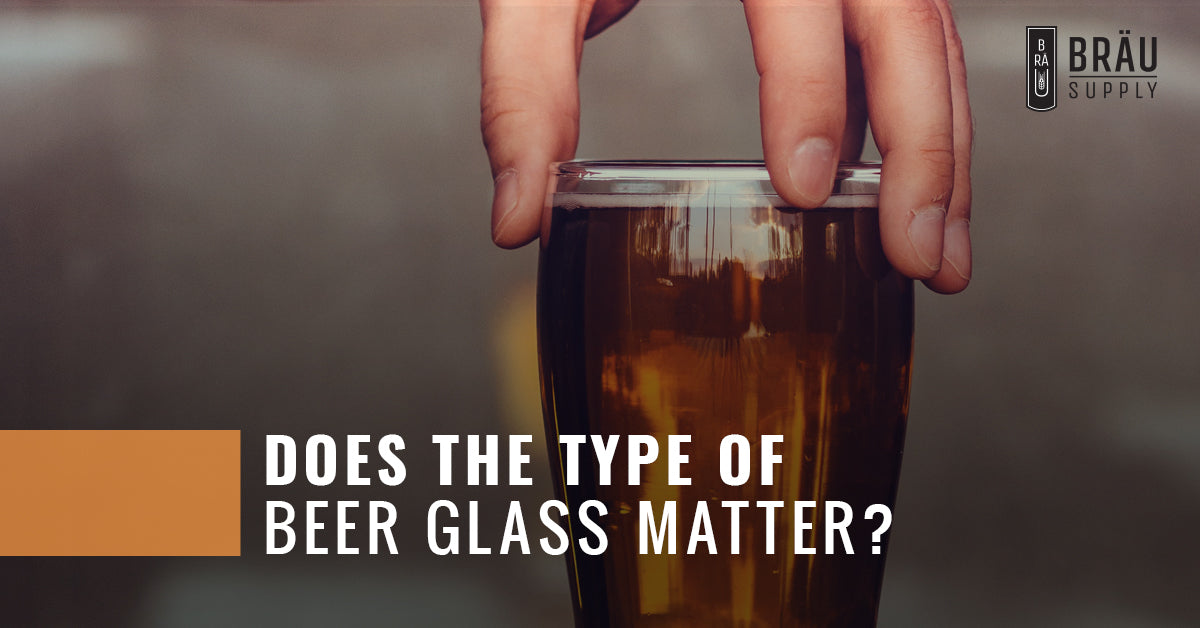 Does The Type Of Beer Glass Matter?