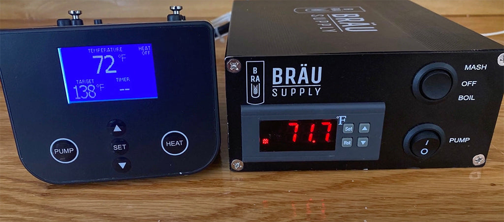 Comparing the Grainfather Controller To Bräu Supply ETC