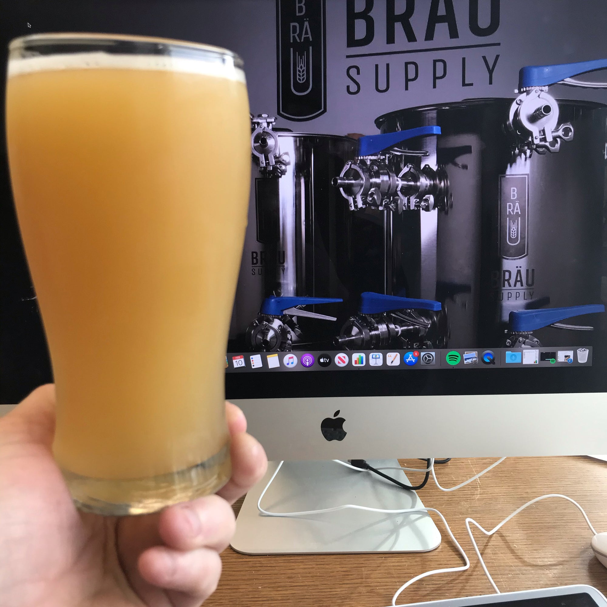 Hazy IPA Brew and Recipe