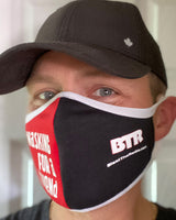 BTR RBW Facemask black side view