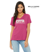 BTR Women's V-Neck T-Shirt