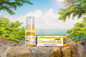 Ripple Saltwater Crocodile Oil 50ml (Pleasant Fragrance) - FEI FAH MEDICAL MANUFACTURING PTE. LTD.