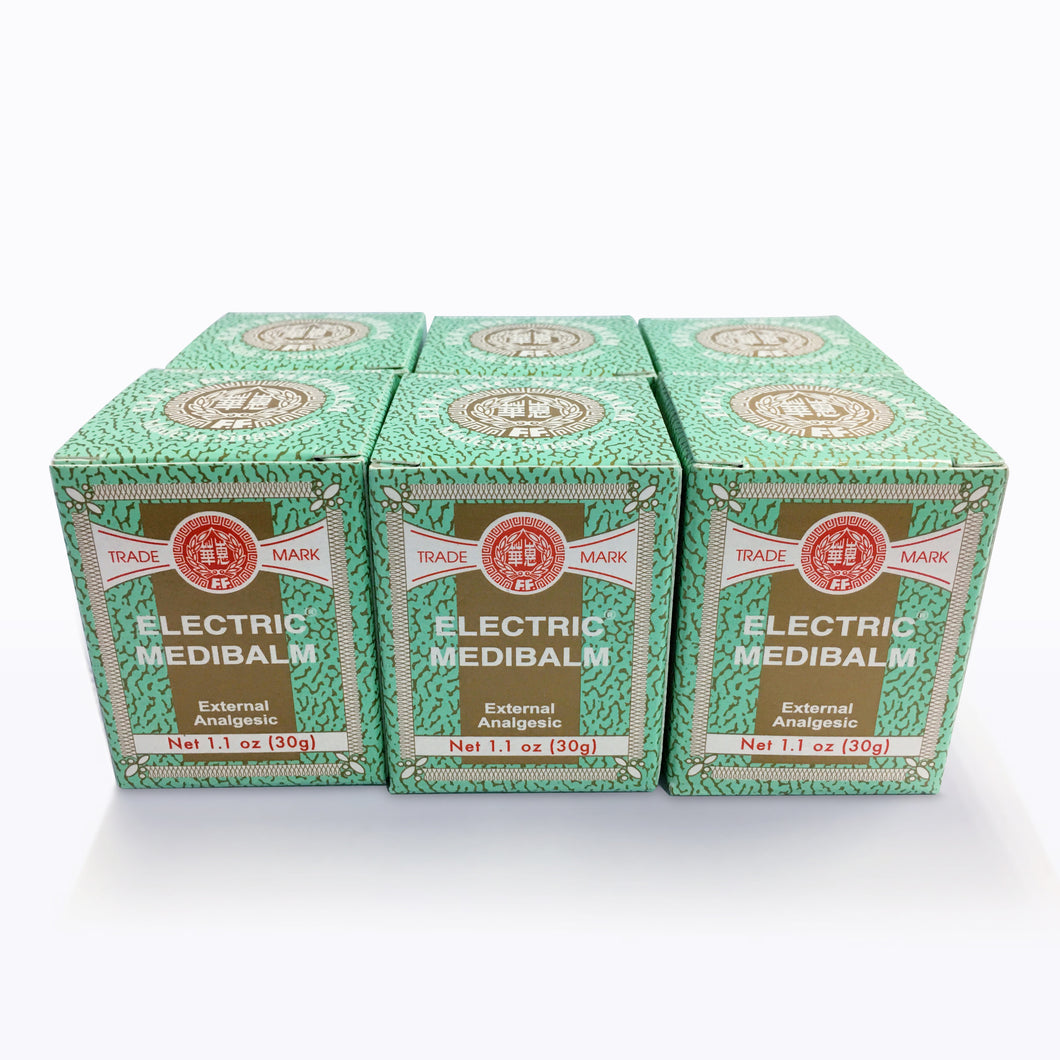 Electric Medibalm 30g (6pcs) - FEI FAH MEDICAL MANUFACTURING PTE. LTD.