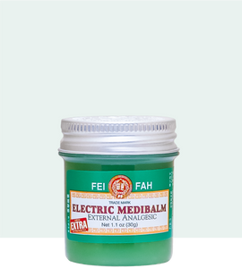 Fei Fah Electric Medibalm (Extra) 30g - Fei Fah Medical Manufacturing Pte. Ltd.