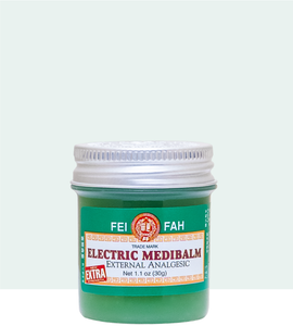 Fei Fah Electric Medibalm (Extra) 30g x 6 - Fei Fah Medical Manufacturing Pte. Ltd.