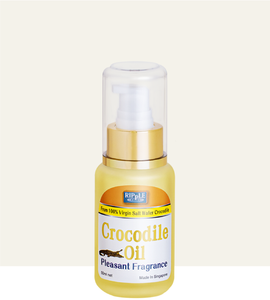 Ripple Saltwater Crocodile Oil 50ml (Fragrance) - Fei Fah Medical Manufacturing Pte. Ltd.