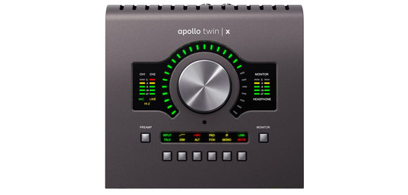 Universal Audio Apollo Twin X QUAD *Equipo en Preventa