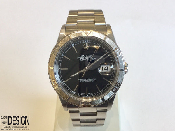 Rolex Datejust Thunderbird Steel White Gold Automatic 2001