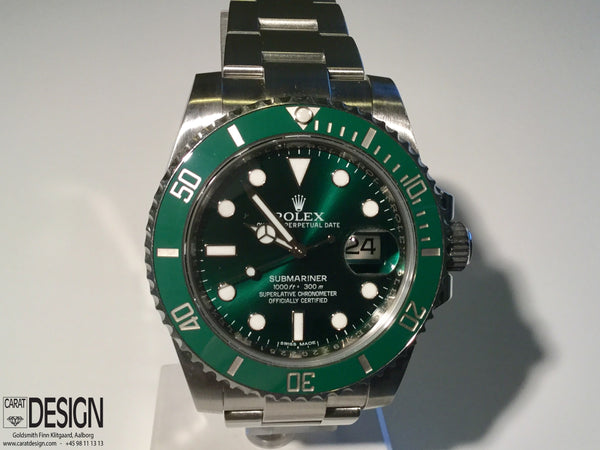 Rolex Submariner Date Green Dial Hulk Automatic Steel 116610LV