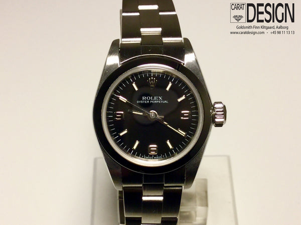Rolex oyster perpetual ladies steel 25 mm