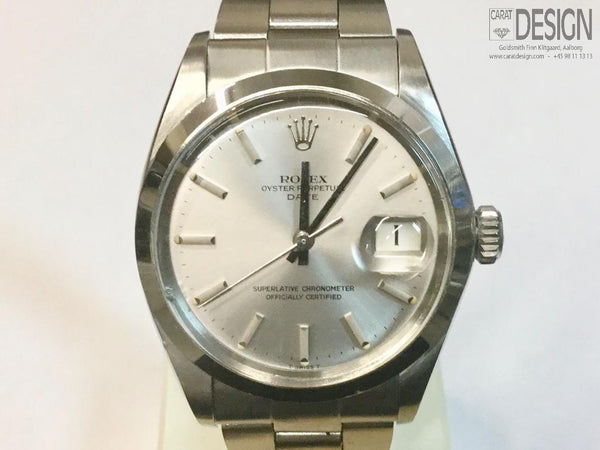 Rolex Oyster Perpetual Date 1500 - Serviced, great condition