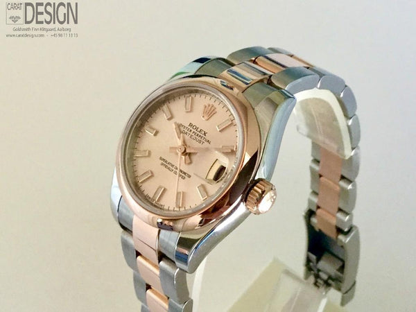 Rolex Lady-Datejust Pink Gold - Serviced, New model