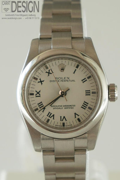 Rolex Steel Ladies 26 mm - New model, serviced full set