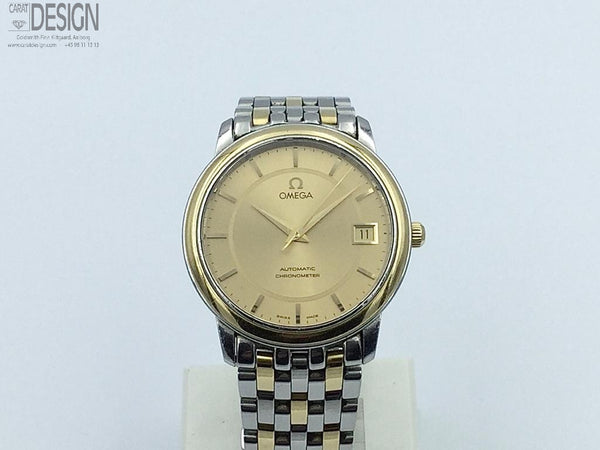 Omega De Ville automatic steel gold chronometer