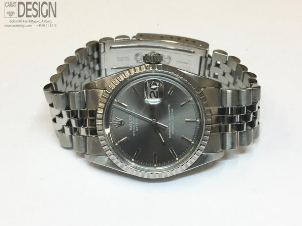 Rolex Datejust 36 mm light gray dial - Serviced