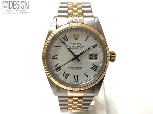 Rolex Datejust steel gold 36 mm model 16013 - Serviced