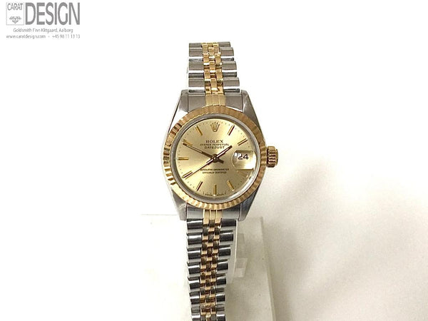 Rolex Ladies steel gold year 1988 - Model 69173, Serviced #67