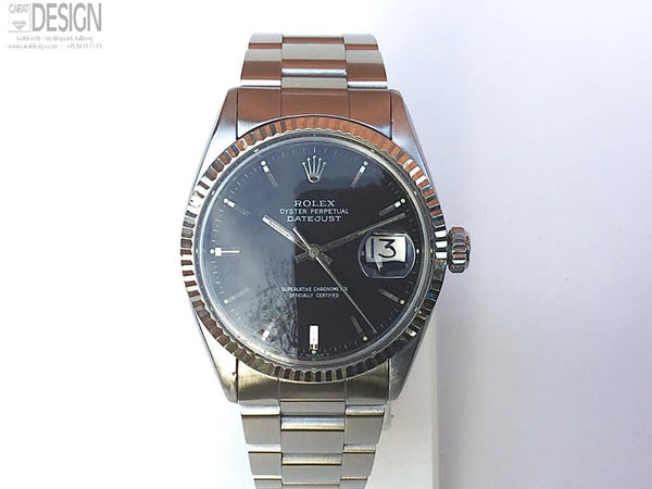 Rolex DateJust black dial - Model 1601 #74