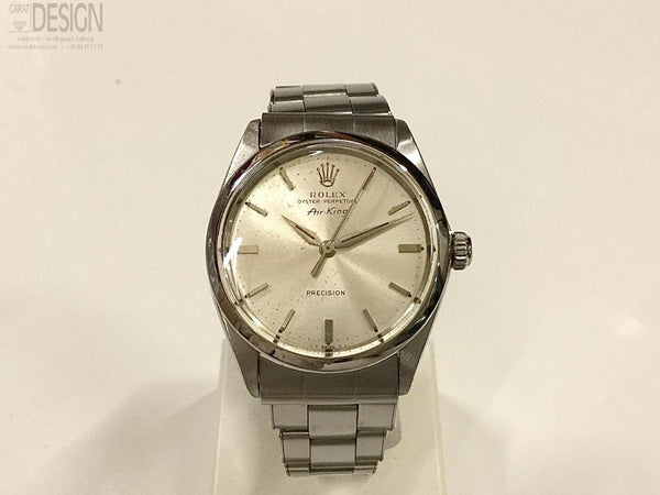 Rolex Airking steel Aut. Model 5500