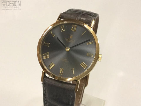 Rolex Cellini 18k Yellow gold. Manual winding.