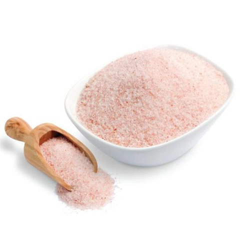 Organic Cooking Salt Crystals Coarse Grade  Himalayan Pink Cooking Rock Salt