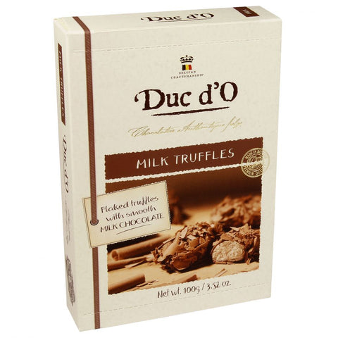 Duc d'O Milk Chocolate Flaked Truffles