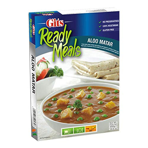 Gits Aloo Matar - Just Heat and Eat 300gms