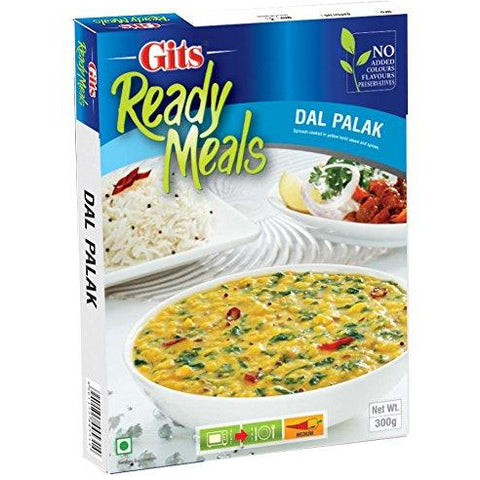 Gits Dal Palak 300g -Just Heat and Eat
