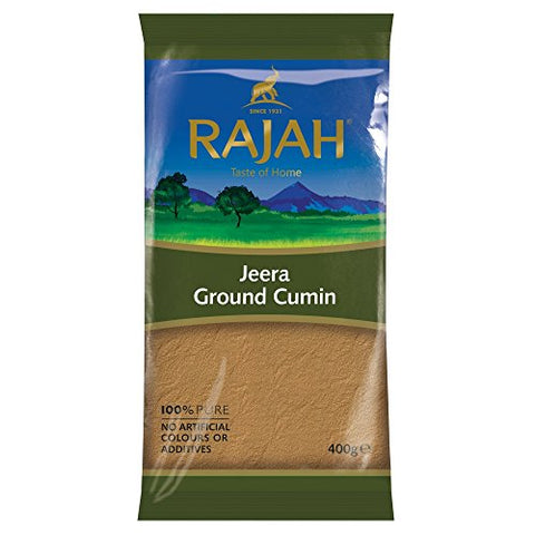 Rajah Jeera Ground Cumin, 400 g