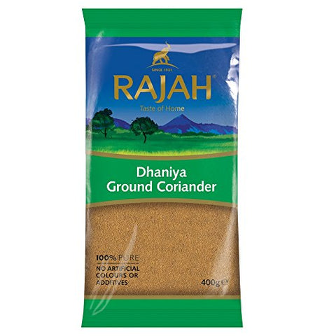 Rajah Dhaniya Ground Coriander, 400 g