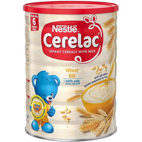 Nestle Cerelac Wheat ( Ble ) with Milk Infant Cereal 400g