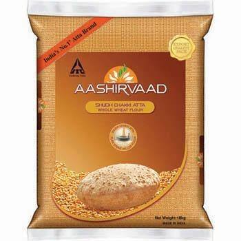 Aashirvaad Whole Wheat Chakki Atta -5Kg